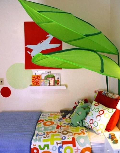Dormitorio infantil decorado y colorido