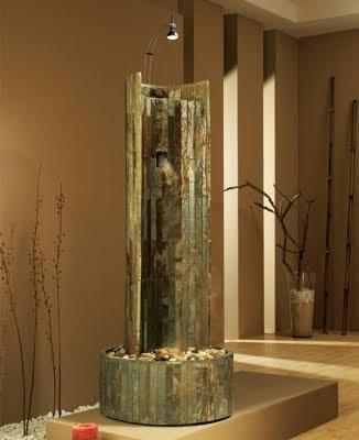 Arquitectura de casas fuentes de agua feng shui - Fuentes para interiores ...