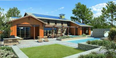 Render casa ecologica