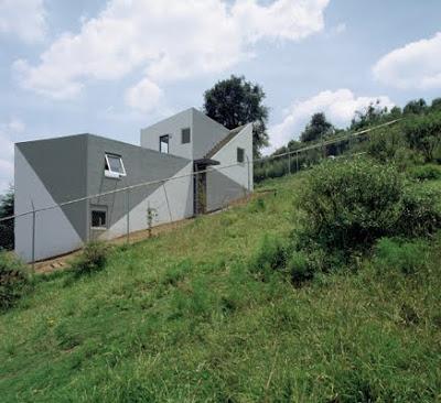 Casa moderna mejicana