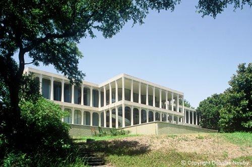 Residencia Moderna diseño de Philip Johnson