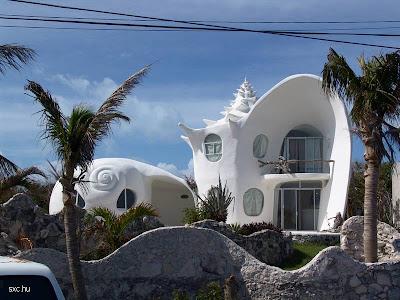 Casa pintada de blanco