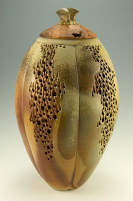 Pieza ceramica artistica