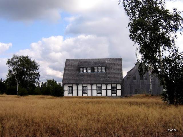 Casa rural en Suecia con granero rehabilitada