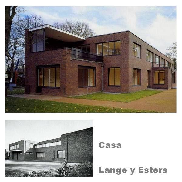 Arquitectura de casas casa moderna de ladrillos for Casas modernas ladrillo