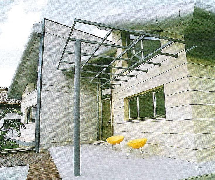 Arquitectura de casas casa contempor nea vanguardista en for Casa decoracion valencia