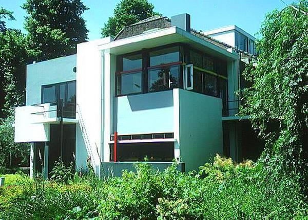 Casa neoplasticista años 20 en Holanda