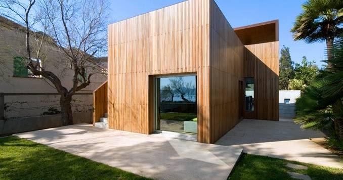 Arquitectura de casas casa contempor nea minimalista en for Casa minimalista contemporanea