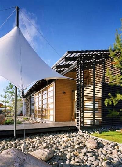Arquitectura de casas casa familiar prefabricada finlandia for Arquitectura prefabricada