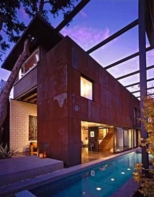 Casa moderna estilo Contemporáneo en la costa Oeste de Estados Unidos