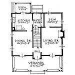 Plano de arquitectura de planta baja
