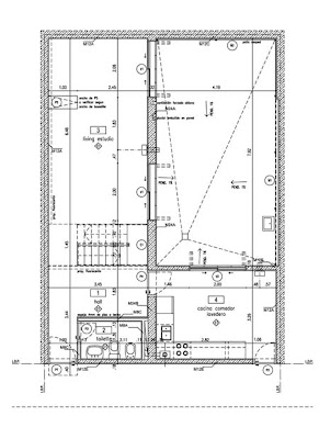 Plano de casa chorizo modificada