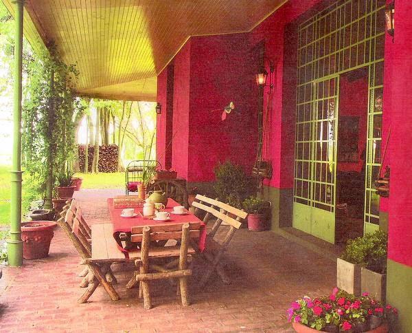 Arquitectura de casas casa de campo estilo italiano en for Casas de campo argentina diseno