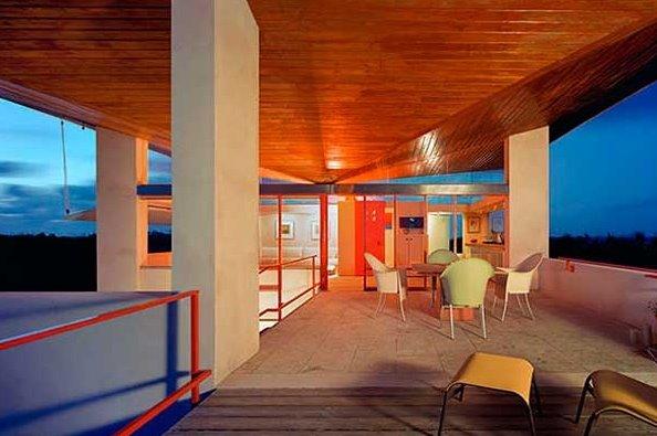 Casa de arquitectura Tropical