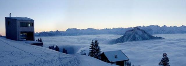 Chalet contemporáneo de montaña en Suiza
