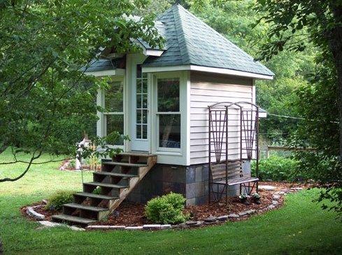 Casa pequeña de jardín