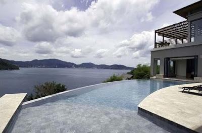 Villa de estilo Contemporáneo frente al mar en Tailandia
