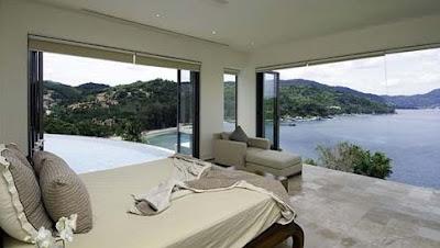 Villa contemporánea en Tailandia - Dormitorio principal