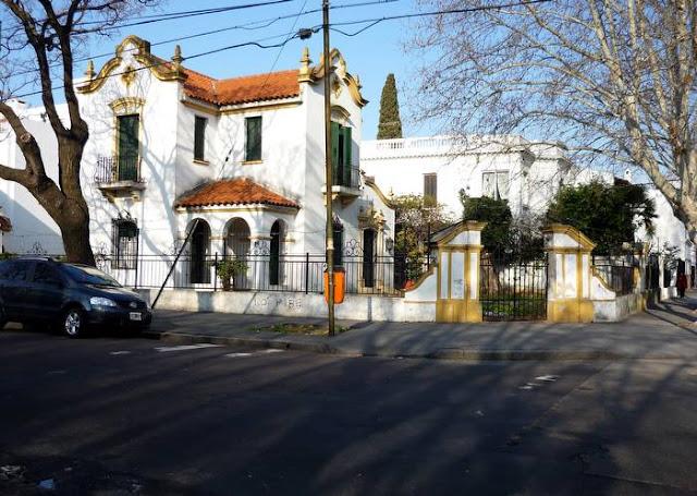 Casa residencial de estilo en restauración