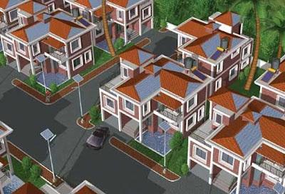 Casas ecológicas modernas en la India