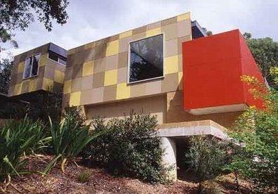 Sector de casa residencial contemporánea suburbana en Sydney, Australia