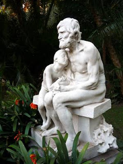 Escultura en mármol de Carrara