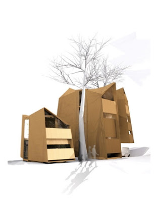 Casa prefabricada diseño orgánico