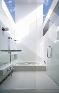 Baño sector de ducha y bañera en la casa