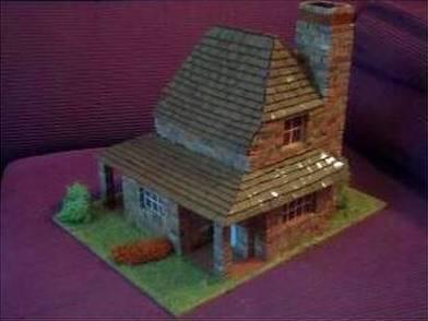 Arquitectura de casas maquetas de casas a pedido y kits - Maquetas de chalets ...