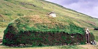 Casa primitiva islandesa