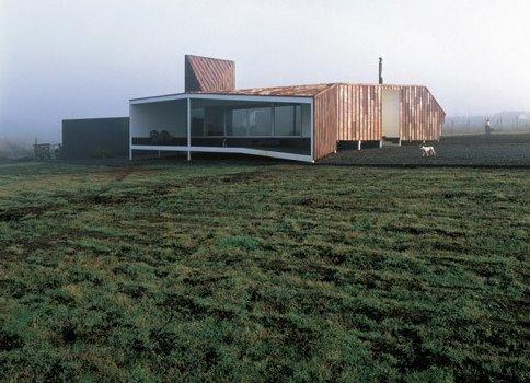 Perspectiva de la casa de cobre en Chile