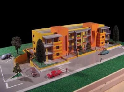 Maqueta proyecto Verde Casa