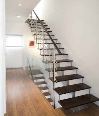 Escalera estilo Contemporáneo