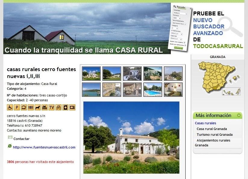 Arquitectura de casas portal de casas rurales espa a - Paginas de casas rurales ...