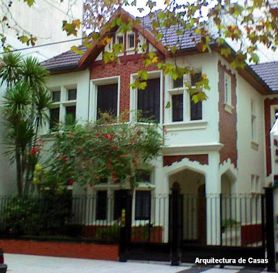 Arquitectura de casas casa residencial de estilo ingl s - Casas en ingles ...
