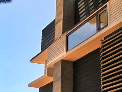 Detalle modelo de casa moderna #2
