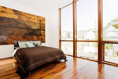 Dormitorio en la residencia de Seattle