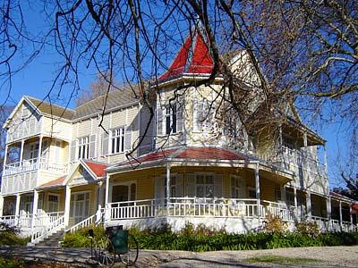 Villa Victoria prefabricada de madera