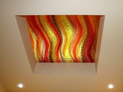 Moderna luminaria de techo