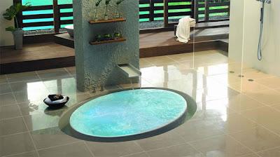 Hidromasaje baño moderno