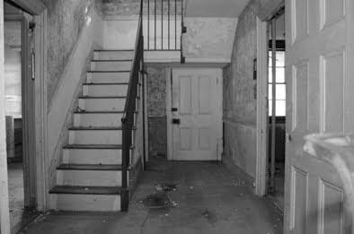 Interior derruido