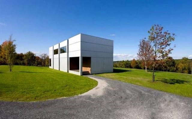 Casa residencial contemporánea en las afueras de Nueva York