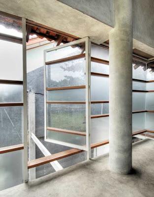 Interior de la planta alta