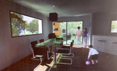 Interior de una de las casas