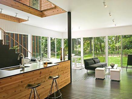 Interior de la vivienda estilo Contemporáneo