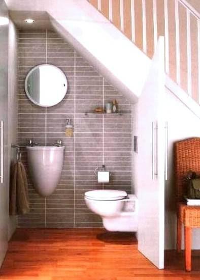 Baño Bajo Escalera Planos:Arquitectura de Casas: Baño bajo escalera