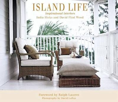 Cubierta de libro sobre diseño y decoración Tropical en casas de islas del Caribe