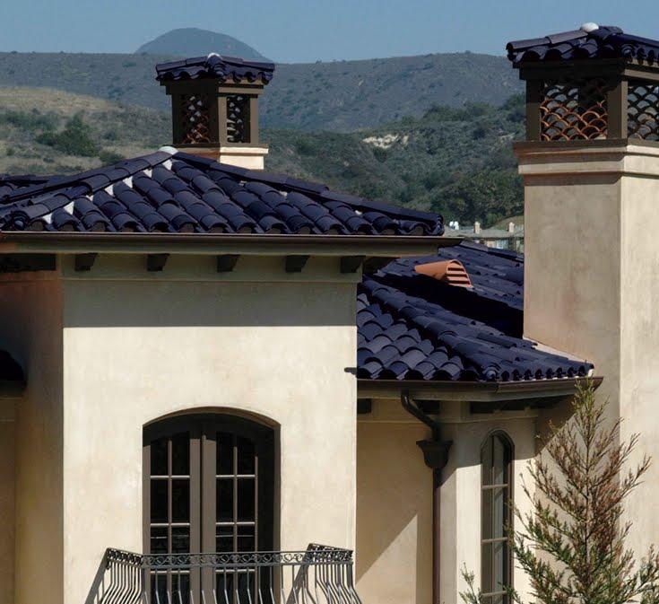 Arquitectura de casas tejas curvas solares usa for Tejados solares