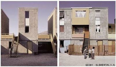 Casas económicas viviendas sociales en Chile