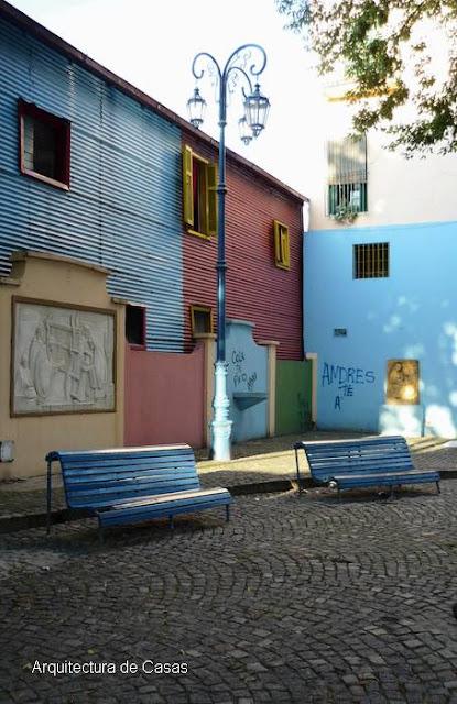 Sector de Caminito en La Boca, Buenos Aires, Argentina